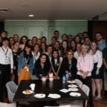 Group photo of 26 law students from the Erasmus University Rotterham