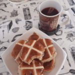 Pre Easter snack and berry tea