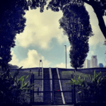 Labour day walk at Fort Canning