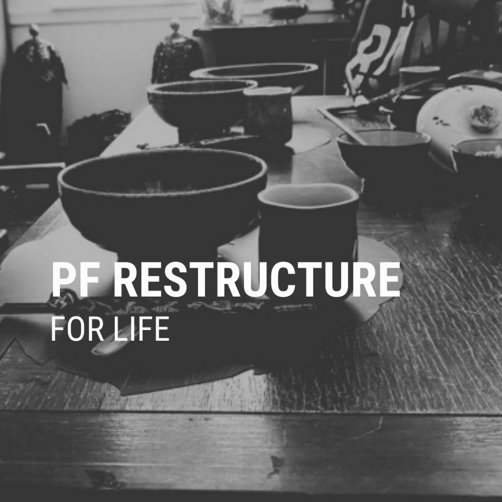 PF Restructure Page Header