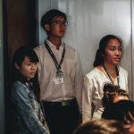 PF Advisory Affiliate firm trainees: Emelia Kwa, Eric Lip & Cheryl Lim