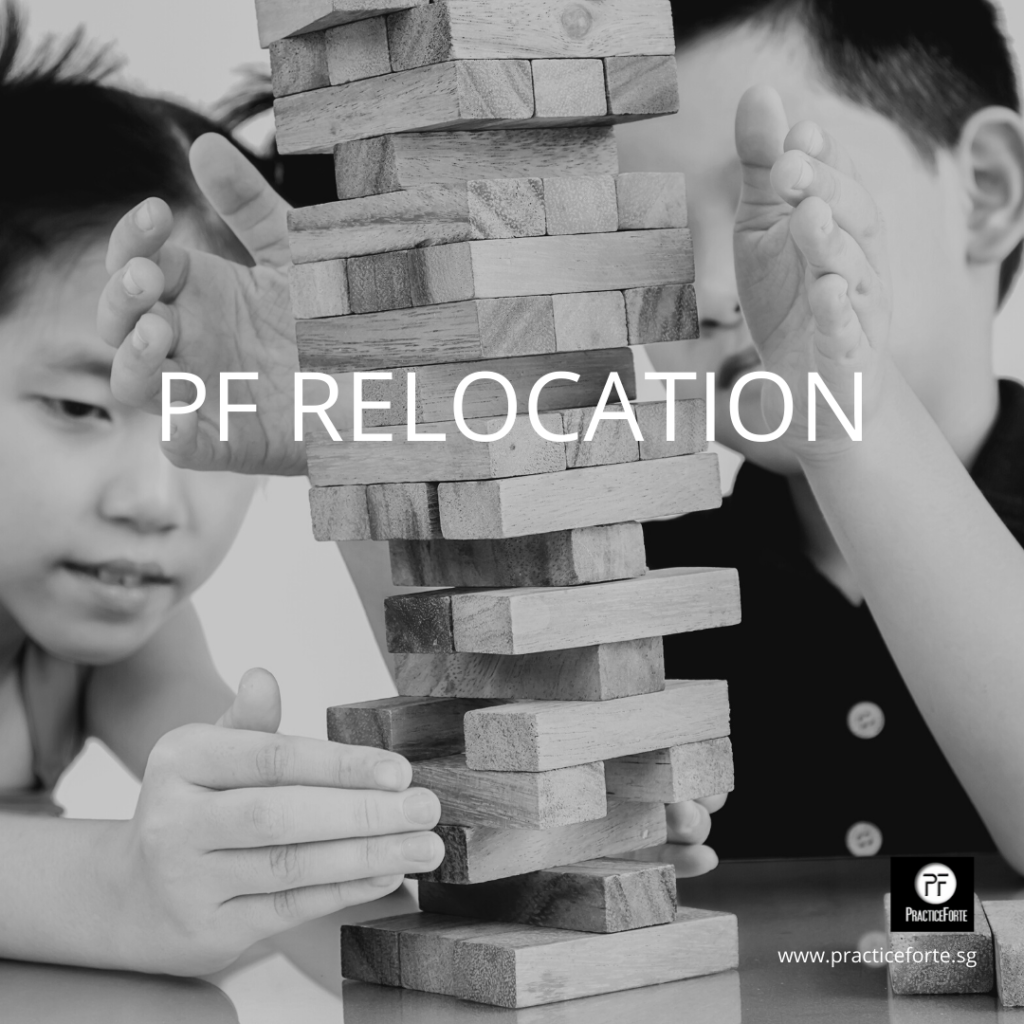 PF Relocation Page Header